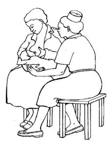 Mamma sostegno allattamento