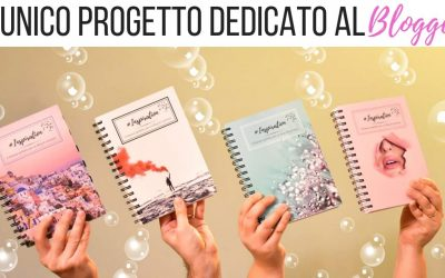 Inspiration for blogger. La vostra agenda planner!